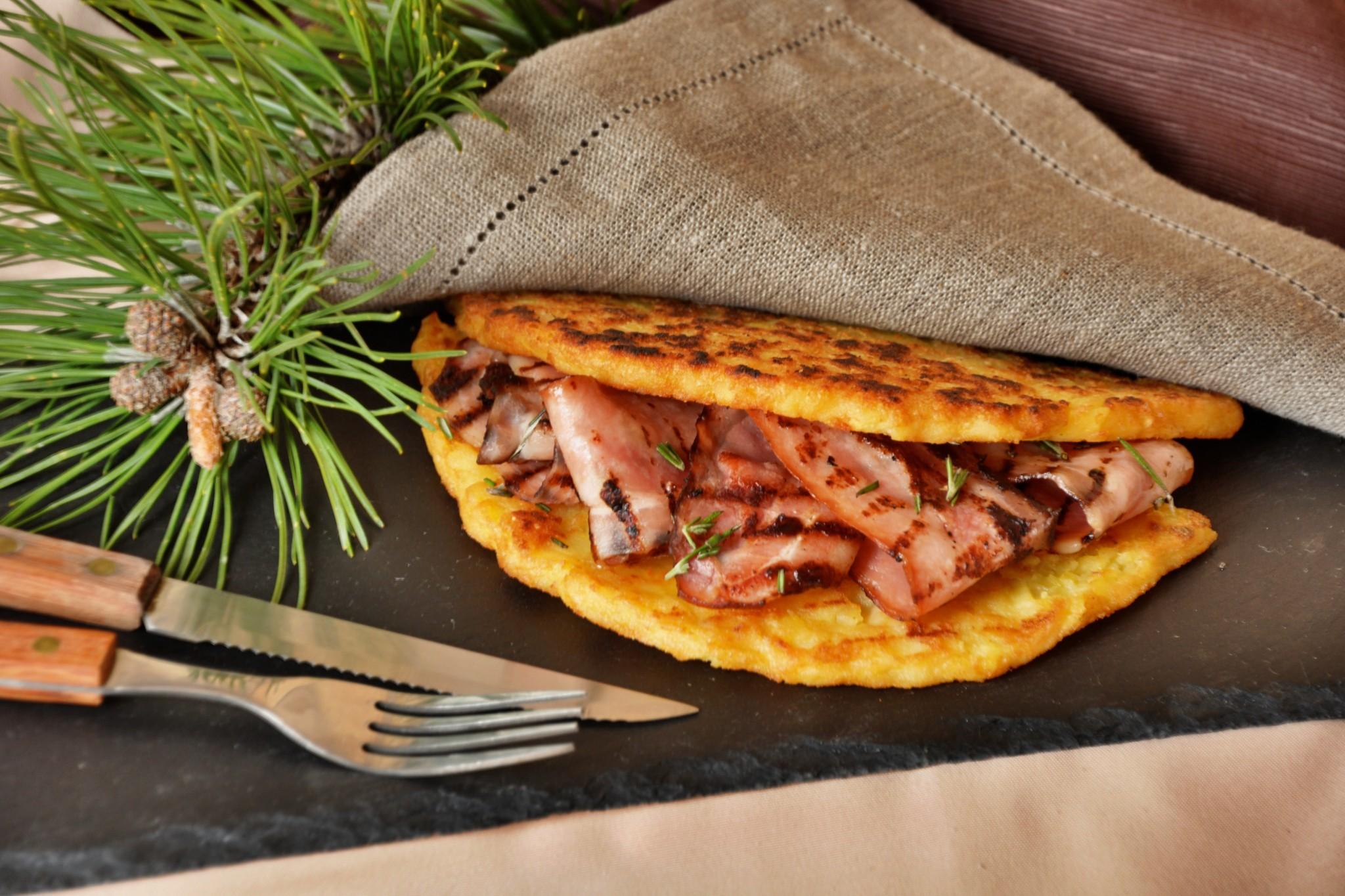 Menu Lusernarhof Tortèl di patate Trentino